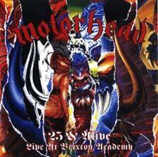 Motorhead - 25 & Alive - Boneshaker - New CD/DVD Album