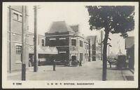 Hampshire. Basingstoke L.S.W.R Railway Station. Kingsway Real Photo Postcard