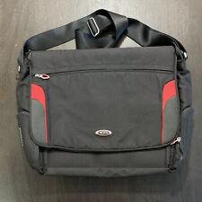 Tumi Ducati Messenger Bag 6507RCE Laptop, Tablet, Mobile Device Pockets Black