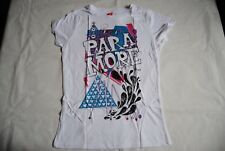 PARAMORE SPLASH LADIES SKINNY T SHIRT NEW OFFICIAL RARE HARD TO FIND