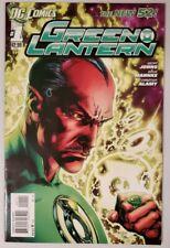 GREEN LANTERN #1 (DC 2011) NEW 52 (TEAR DROP ERROR) *GEOFF JOHNS* VF