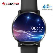 LEMFO LEMX Bluetooth Smart Watch Phone 4G GPS Wifi 8MP Camera For Android iOS