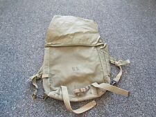 Wwii Us Army M-1945 field pack upper Us marked with strap cut and modified strap