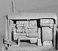 Gardener 5LW Diesel Generator X17 UNPAINTED OO Scale Langley Models Kit 1/76