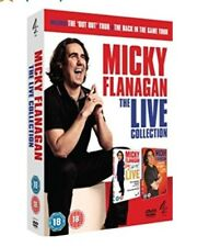 Micky Flanagan The Live Collection FANTASTIC COMEDY DOUBLE DVD SET