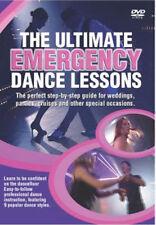 Ultimate Emergency Dance Lessons, Foxtrot, Waltz, Rock & Roll, Tango, Salsa -DVD