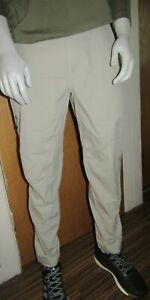 Adidas Terrex Mens Trail Walking Pants Grey Size 34