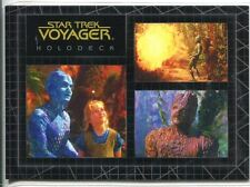 Star Trek Voyager Quotable Best Of The Holodeck Chase Card H6