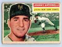 1956 Topps Johnny Antonelli . #133