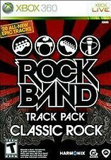 Rock Band Track Pack: Classic Rock Disc Only! Microsoft Xbox 360, 2009 FREE SHIP