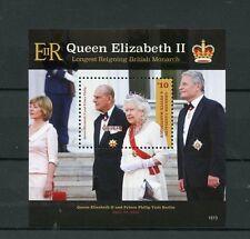 Grenadines Grenada 2015 MNH Queen Elizabeth II Longest Reigning Monarch 1v S/S