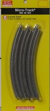 Micro Trains Line Z Scale 990 40 904 Curved Track R195mm 45 Degree 12Pcs