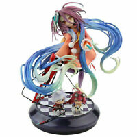 NO GAME NO LIFE Shiro 22cm Anime Manga Figur Figure Mit Box Und 2 Mini Figuren
