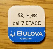 92 Center Second Pinion Ht 4.50 Genuine Bulova Watch Cal 7Efacd Replacement Part