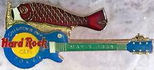 Hard Rock Cafe TOKYO 1998 CHILDREN'S DAY PIN Red Fish Kite on GUITAR HRC #10133