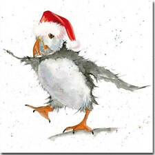Puffin Christmas Card * Special Watercolour Christmas Card * Premium Art Card