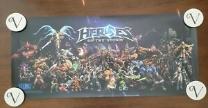 Blizzard Blizzcon 2016 Heroes of the Storm Poster