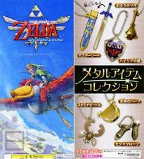 Legend of Zelda: Skyward Sword Metal Item Set of 6 (2012) Brand New JAPAN Import