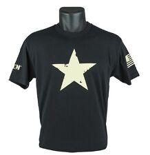 BRAVO COMPANY T-SHIRT, SHORT SLEEVE, STAR, COLOR BLACK