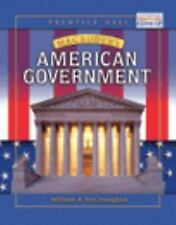 MAGRUDER'S AMERICAN GOVERNMENT STUDENT EDITION 2004C, PRENTICE HALL, Good Book