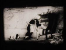 16mm Black & White SILENT Movie, Cartoon - Unknown Title Hubbard Beanstalk Rare?