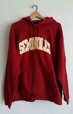 Seminoles Hoodie Red Full Zip Sweatshirt Size XL By ProEdge