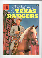 Dell JACE PEARSON TALES OF THE TEXAS RANGERS #16 June-Aug 1956 vintage comic VF