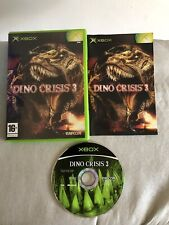 DINO CRISIS 3 - XBOX GAME ORIGINAL & COMPLETE WITH MANUAL VGC **Free Post**
