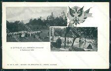 Varese Brenta Cittiglio 77º Reggimento Fanteria Militari cartolina QT7684