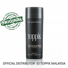 Toppik Hair Building Fiber 27.5G BLACK (OFFICIAL DISTRIBUTOR MALAYSIA)
