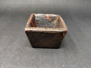 Ancient Wooden Hand Carved Himalayan Spice Bowl Cup Vegetable Bowl Kitchenware