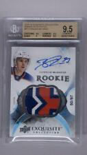 2015 UD The Cup Exquisite Connor McDavid RPA 3-Color Patch /97 BGS 9.5 10 AUTO