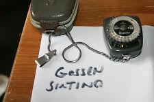 Gossen Sixtino (Pilot) Selenium Exposure Meter - Working Well, Good Condition