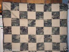 Camo Crib / Toddler Quilt ~ Handmade Camo Blanket ~ Outdoors ~ Unisex
