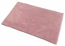 Catherine Lansfield 100 Polyester Home Bath Mat Rug 50cm X 80cm - Pink