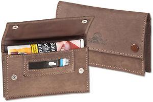 Woodland® Tabaktasche / Drehertasche aus weichem, naturbelassenem Büffelleder