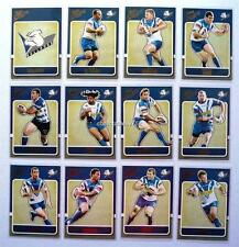 2009 NRL BULLDOGS SELECT CLASSIC TRADING CARDS FULL SET 12 Cards