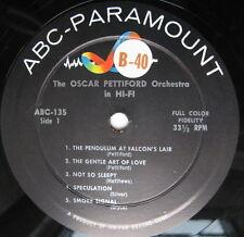 Oscar Pettiford Orchestra in Hi Fi LP ABC- Paramount #ABC-135 Micro Groove