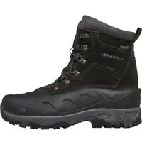 Karrimor Outdoor Mens Snow Boots Size 6 7 8 9 10 11 12 Hiking Trails Black Shoes
