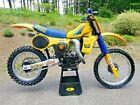 1983 Suzuki RM  1983 Suzuki RM125 134cc DG Racer RM Vintage Motocross AHRMA Dirt Bike