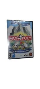 Video Game PC MONOPOLY The Original 2007 NEW SEALED CD-ROM - 14256-WRP2