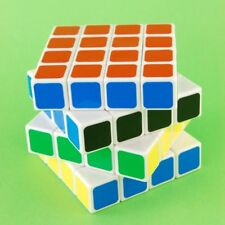Dayan White 4x4x4 6.6cm Magic Speed Cube Puzzle Twist Brain Storm Game Toy Core