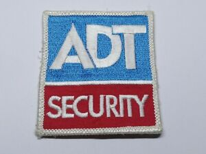 ADT SECURITY SERVICE PATCH / BADGE