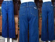 VTG 70s 80s Calvin Klein bellbottom cuf flare denim jeans sz 8 disco supermodel