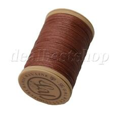 Brown 100m Linen Waxed Wax Thread Cord Sewing Craft for Leather Caft Stitching