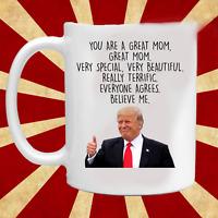 Trump Mom Coffee Mug Trump Mothers Day Gift Trump Mother's Day Mug Funny Trump
