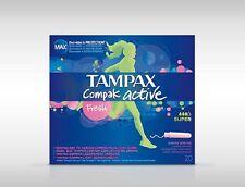 TAMPAX COMPAK ACTIVE TAMPONS 20 SUPER