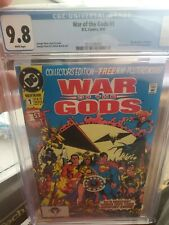 War Of The Gods #1 CGC 9.8 ** POSTER INCLUDED **