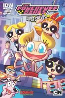 Powerpuff Girls Super Smash-Up #1 sub Variant IDW Comics 1st Print 2015 NM