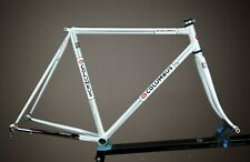 COLUMBUS ENGRAVED COLUMBUS SL TUBING HAND MADE  FRAMESET RESTORED BEAUTIFUL